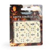Games Workshop -GW WARHAMMER 40000: ADEPTA SORORITAS DICE