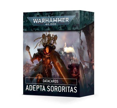 Games Workshop -GW 52-02 DATACARDS: ADEPTA SORORITAS