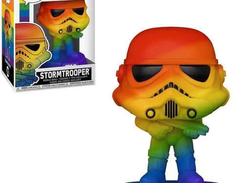 Funko Pop! Star Wars Stormtrooper Pride 2021 Rainbow Pop!
