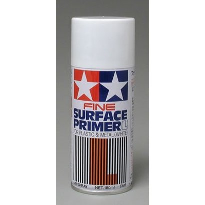 TAM - Tamiya 865- 87044 Primer White Spray 180ml