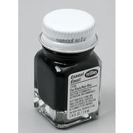 TES - Testors Flat Black .25 oz