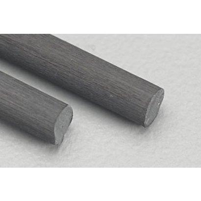 """MID- Midwest 472- 5709 Carbon Fiber Rod .125 24"""" (2)"""