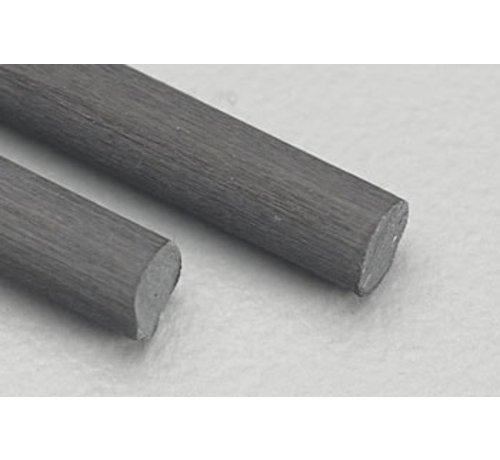 """Midwest (MID) 472- 5709 Carbon Fiber Rod .125 24"""" (2)"""