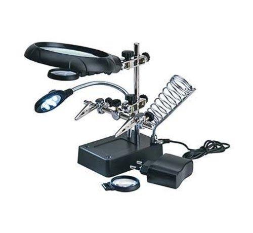 ARTESANÍA LATINA (LAT) 27022-3 Magnifier w/5 LED Lights