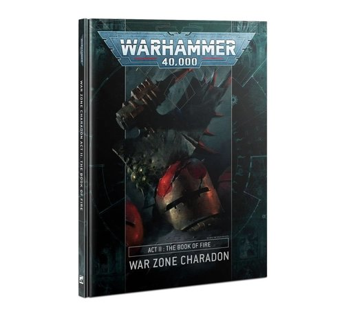 Games Workshop -GW 40-17 WARZONE CHARADON: ACT II: BOOK OF FIRE