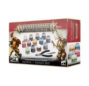 Games Workshop -GW Warhammer Age of Sigmar: Paint + Tools Set
