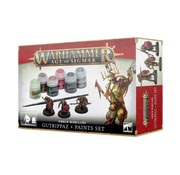Games Workshop -GW Age of Sigmar: Orruk Warclans Gutrippaz + Paints Set