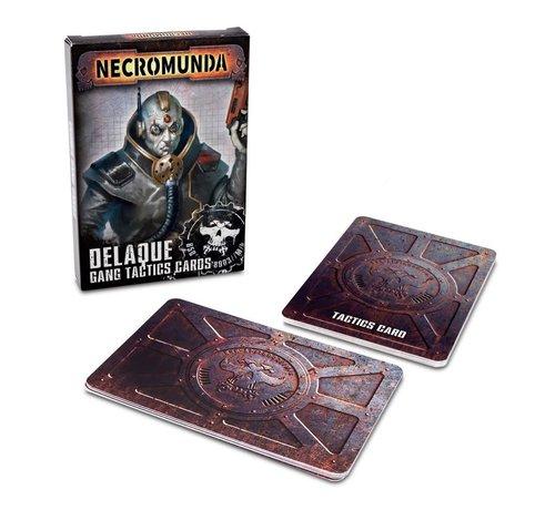 Games Workshop -GW 300-28 Necromunda: Delaque Gang Tactics Cards