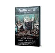 Games Workshop -GW Battlezone: Mechanicum – Terrain Datasheet Cards