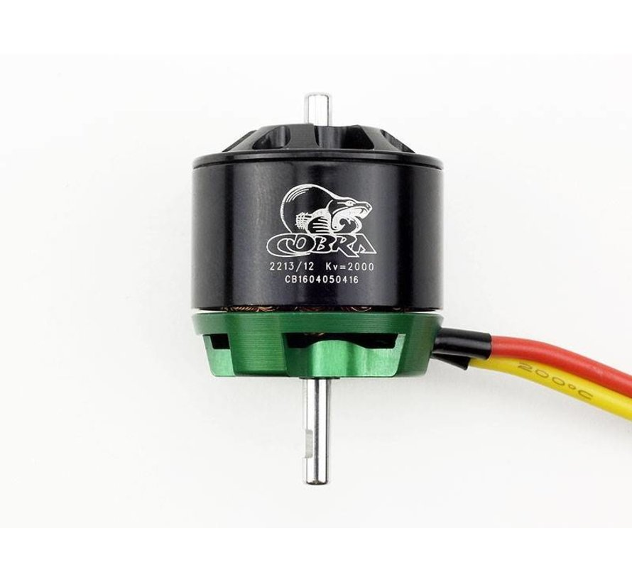 Cobra C-2213/12 Brushless KV=2000 Brushless Airplane Motor