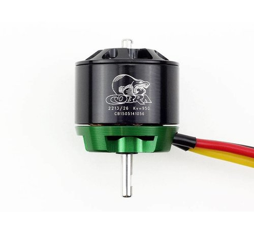 COB Cobra Motors Cobra C-2213/26 Brushless KV=950 Brushless Airplane Motor *