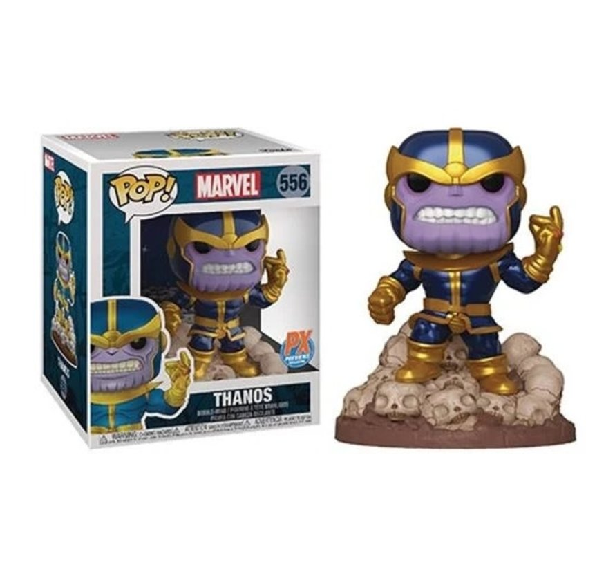 198251 Guardians of the Galaxy Marvel Heroes Thanos Snap 6-Inch Pop! Vinyl Figure - Previews Exclusive