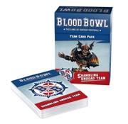 Games Workshop -GW BLOOD BOWL: SHAMBLING UNDEAD TEAM CARDS