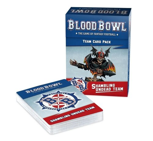 Games Workshop -GW 200-53 BLOOD BOWL: SHAMBLING UNDEAD TEAM CARDS