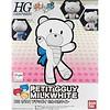 BANDAI MODEL KITS 207601 Build Fighters 1/144 Petit'gguy Milk White