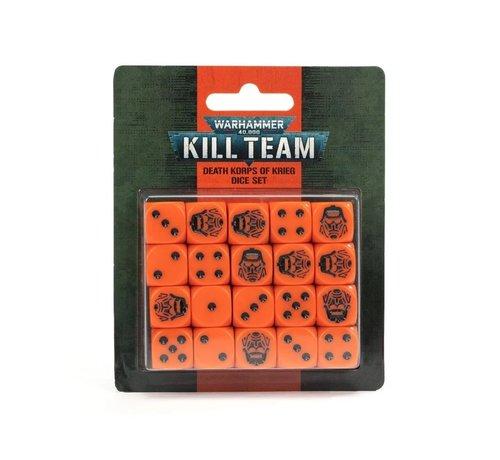 Games Workshop -GW 102-83 KILL TEAM: DEATH KORPS OF KRIEG DICE SET
