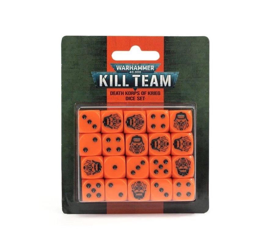 102-83 KILL TEAM: DEATH KORPS OF KRIEG DICE SET