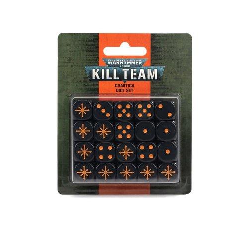 102-81 KILL TEAM: CHAOTICA DICE SET