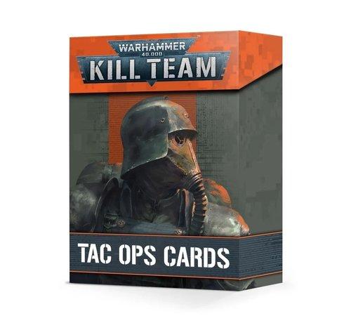 Games Workshop -GW 102-88 KILL TEAM: TAC OPS CARDS