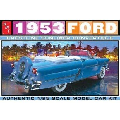 AMT - AMT Models AMT1026/12 1/25 1953 Ford Convertible