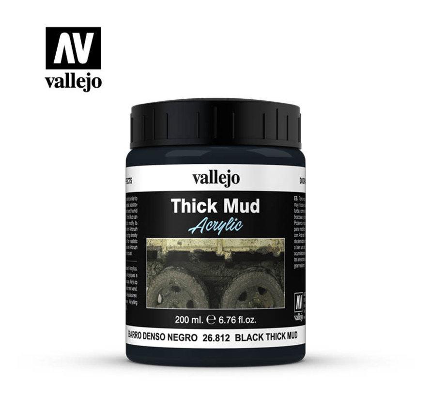26812 - BLACK THICK MUD   200ML