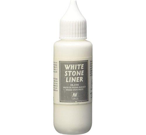 VALLEJO ACRYLIC (VLJ) 26234 - WHITE STONE LINER           35ML