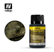 VALLEJO ACRYLIC (VLJ) BLACK THICK MUD   40ML