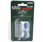 Kato USA (KAT) 381- N scale Track 2-7/16  Straight Feeder