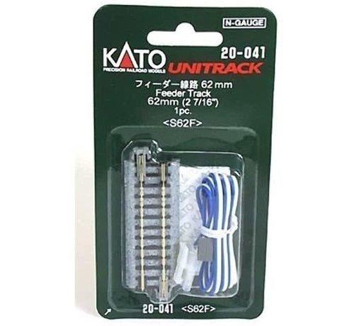 Kato USA (KAT) 381- 20-041 N scale Track 2-7/16  Straight Feeder