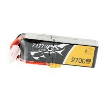 Tattu Tattu 2700mAh 3S1P 25C 11.1V Lipo Battery Pack with XT60 plug
