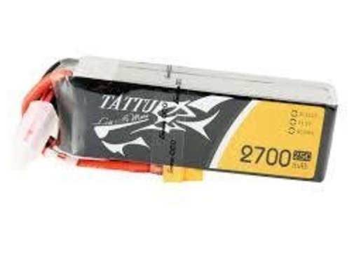 Tattu Tattu 2700mAh 3S1P 25C 11.1V Lipo Battery Pack