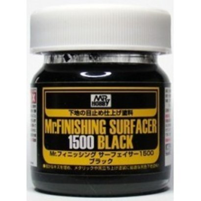 GNZ-Gunze Sangyo Mr Finishing Surfacer 1500 Black Liquid 40ml