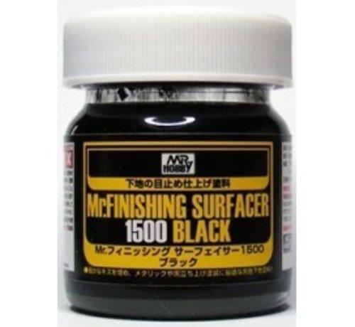 Mr. Hobby GSI - GNZ Mr Finishing Surfacer 1500 Black Liquid 40ml