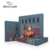 Abteilung 502 Intense Red Acrylic Paint Set (6 Colors) 20ml Tubes