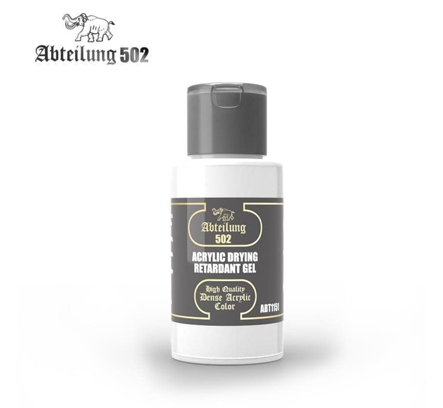 1151 Acrylic Drying Retardant Gel 60ml Bottle