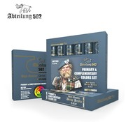 Abteilung 502 Primary & Complementary Acrylic Paint Set (6 Colors) 20ml Tubes