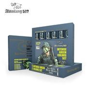 Abteilung 502 Intense Green Acrylic Paint Set (6 Colors) 20ml Tubes