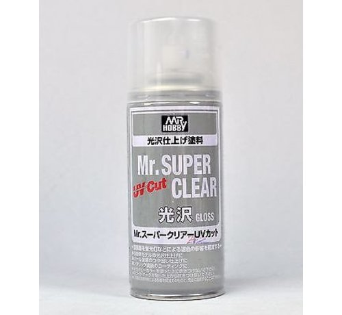 Mr. Hobby GSI - GNZ B522 Mr. Super Clear UV Cut Gloss 170ml , GSI