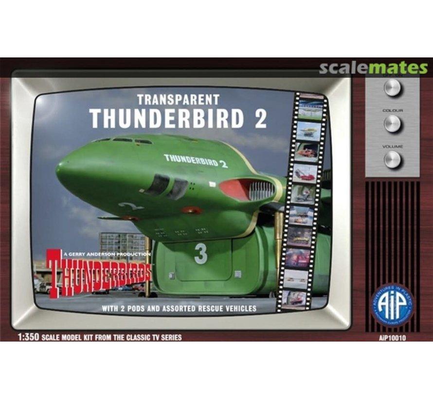 10010 TRANSPARENT THUNDERBIRD 2