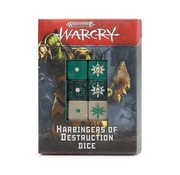 Games Workshop -GW WARCRY: HARBINGERS OF DESTRUCTION DICE
