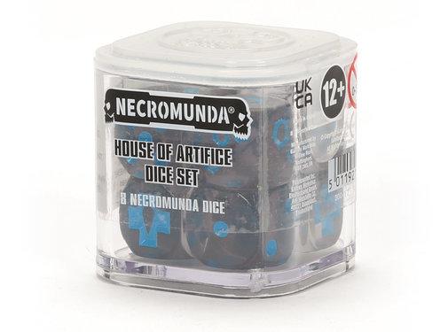 Games Workshop -GW NECROMUNDA: HOUSE OF ARTIFICE DICE