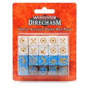 Games Workshop -GW WARHAMMER UNDERGROUND: GRAND ALLIANCE ORDER DICE PACK