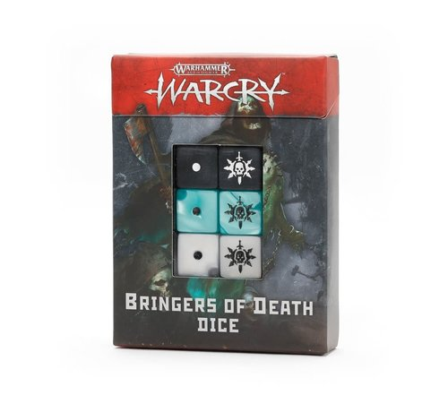 Games Workshop -GW 111-74 WARCRY: BRINGERS OF DEATH DICE