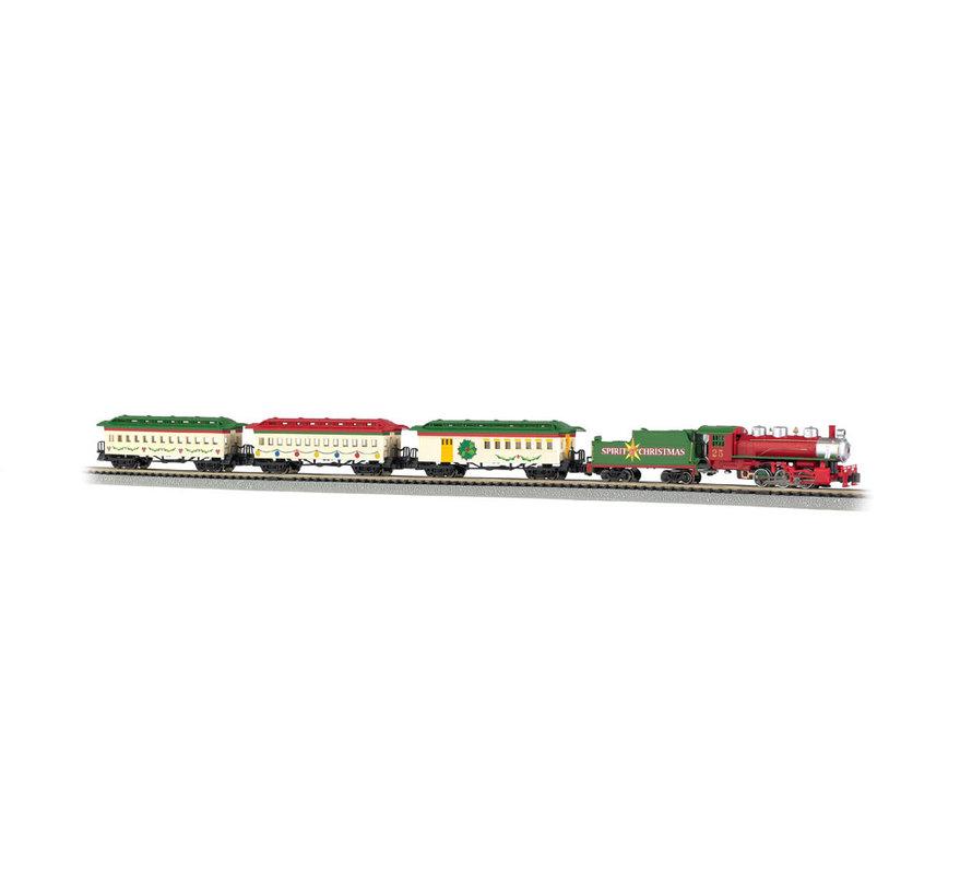 24017 N Scale Spirit of Christmas Train Set