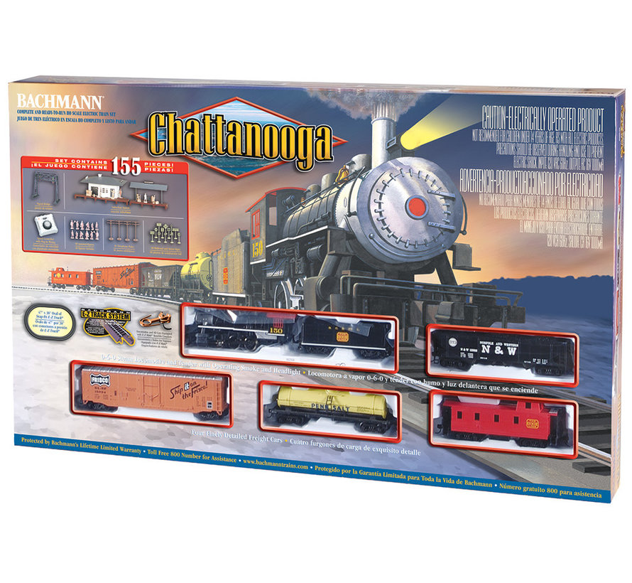 00626 Chattanooga Set HO
