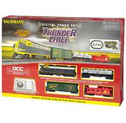 Bachmann (BAC) 160- HO Thunder Chief Train Set w/EZ Command Sound