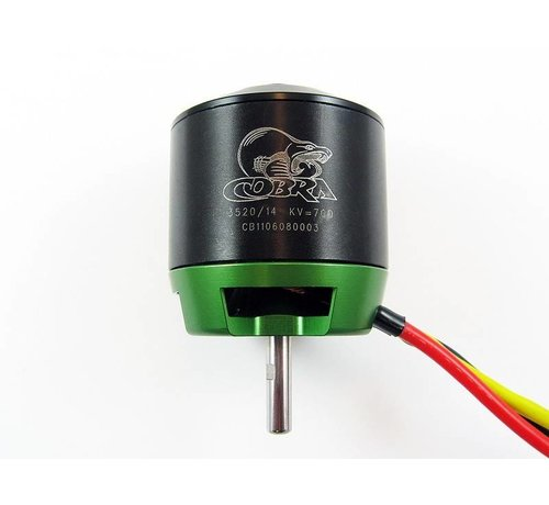 COB Cobra Motors Cobra C-3520/14 Brushless Motor, Kv=700