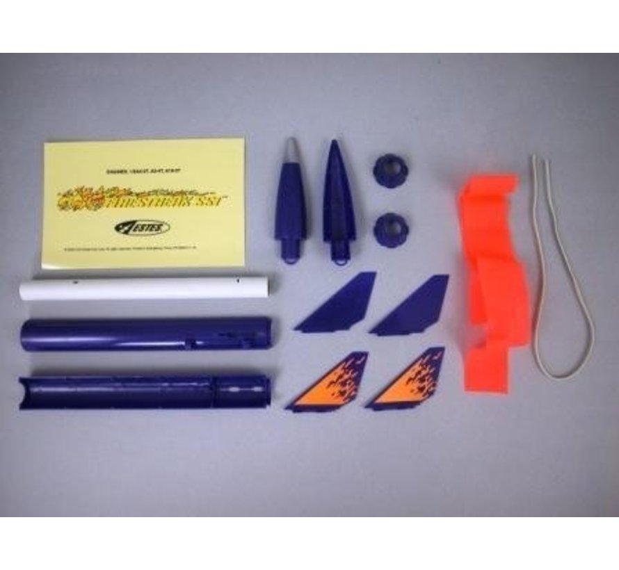 000806 Firestreak SST Model Racket Kit E2X Easy-to-Assemble