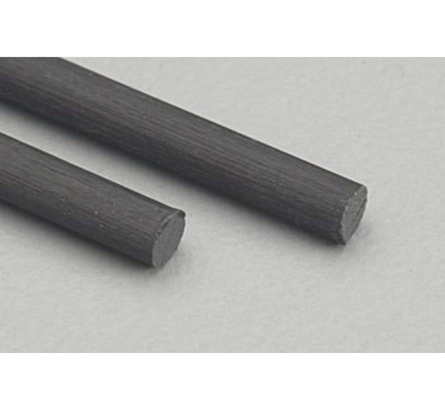 """5707 Carbon Fiber Rod .098 24"""" (2)*"""