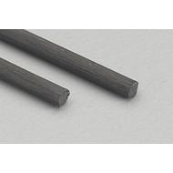 """MID- Midwest 472- 5706 Carbon Fiber Rod .080 24"""" (2)"""